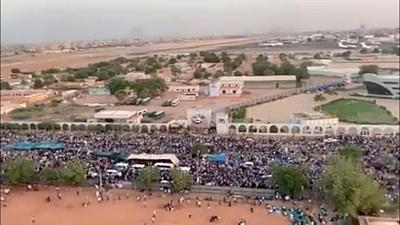 Sudan opposition says around 20 killed since sit-in began