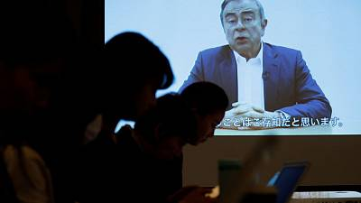 In video, Ghosn says he is innocent and victim of backstabbing