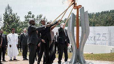 25ème anniversaire du génocide rwandais