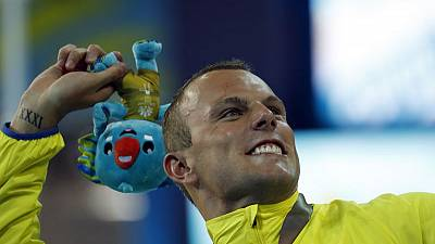 Swimming - Olympic sprint champion Chalmers makes statement in home pool