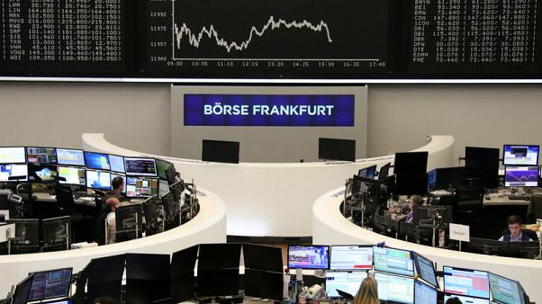 European stocks edge lower as threat of U.S. tariffs hits Airbus, suppliers