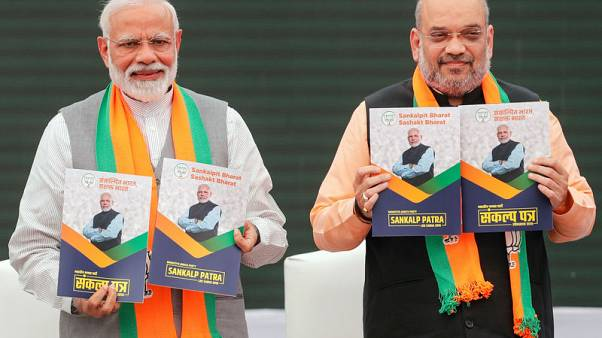 Modi's alliance to win slim majority in Indian election, poll shows