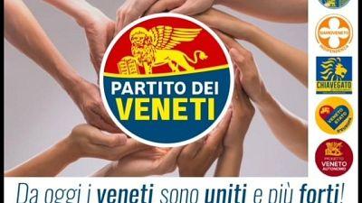 Nato 'Partito dei Veneti'