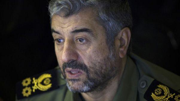 """قائد الحرس الثوري يقول الحرس سيزيد قدراته بعد الخطوة الأمريكية """"المضحكة"""""""