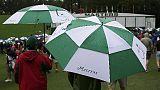 Golf: maltempo si abbatte sul Masters
