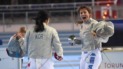 Scherma:Fusetti mondiale bronzo under 17