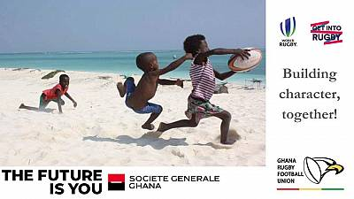 Société Générale and Ghana Rugby to build character in Ghana together