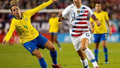 Brazilian women unable to emulate U.S. footballers in equality battle