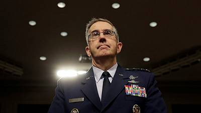 U.S. Air Force General Hyten nominated to be next vice chairman of Joint Chiefs of Staff