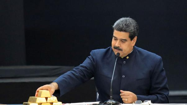 Exclusive: Venezuela removes eight tonnes of gold from central bank  - sources