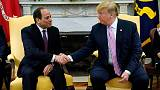Trump praises Egypt's Sisi despite concerns about human rights, Russian arms