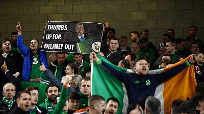 Ireland FA's state funding suspended