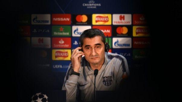 """Messi est """"toujours là dans les grands moments"""", assure l'entraîneur du Barça"""
