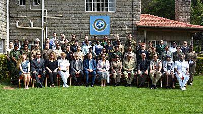 Des Officiers françaises formées à Nairobi au maintien de la paix