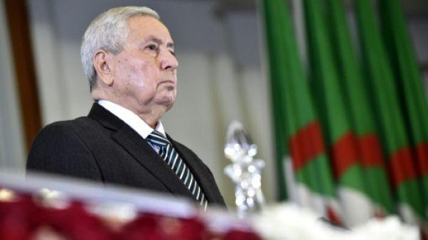 """Algérie: Bensalah promet """"un scrutin présidentiel transparent et régulier"""""""