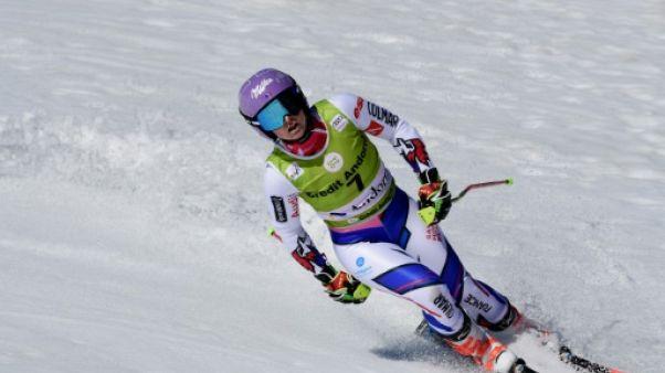 Ski alpin: Tessa Worley opérée du genou droit