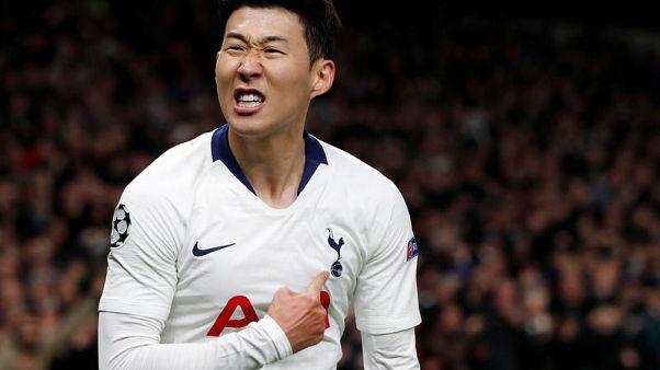 Son's late winner gives Tottenham edge over Man City