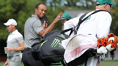 Golf - Win, lose or not even here, Woods always in Masters spotlight