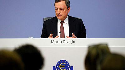 ECB keeps easy policy unchanged amid global gloom