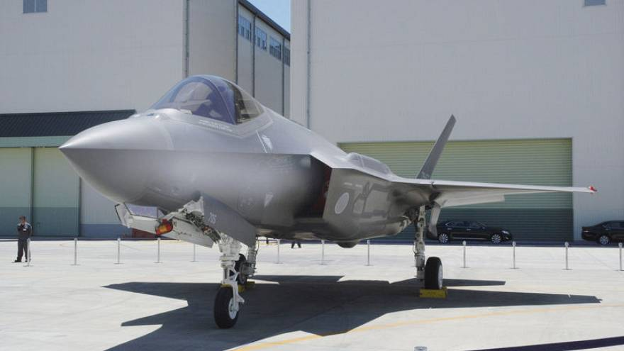 Wreckage confirmed to be crashed Japanese F-35 fighter, pilot still missing