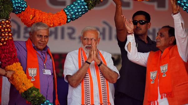 India's Modi rides nationalist fervour ahead of election starting on Thursday