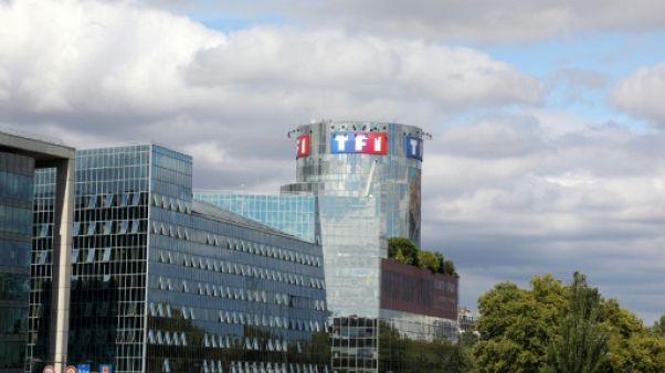 Vue du siège de TF1 à Boulogne-Billancourt, le 4 septembre 2017