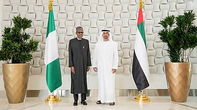 His Highness Sheikh Mohamed bin Zayed, President of Nigeria discuss cooperation