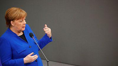 Result of Deutsche-Commerzbank merger talks is open, says Merkel