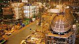 إعادة فتح حوض بريطاني لبناء الغواصات النووية بعد تحذير كاذب من قنبلة
