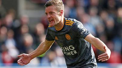 Leicester's Vardy available for Newcastle clash