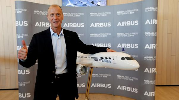 Airbus chief says hopes Boeing and FAA can resolve 737 MAX crisis soon