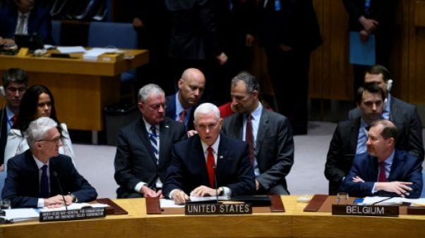 Venezuela: Pence réclame à l'ONU de reconnaître Guaido comme dirigeant