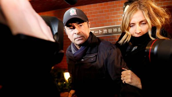 Wife of ousted Nissan boss Ghosn return to Japan to testify - Nikkei