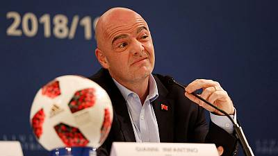 World Cup increase to 48 teams at 2022 finals is 50/50 - FIFA