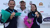 Tiro a volo: Cdm Al Ain, bronzo azzurro