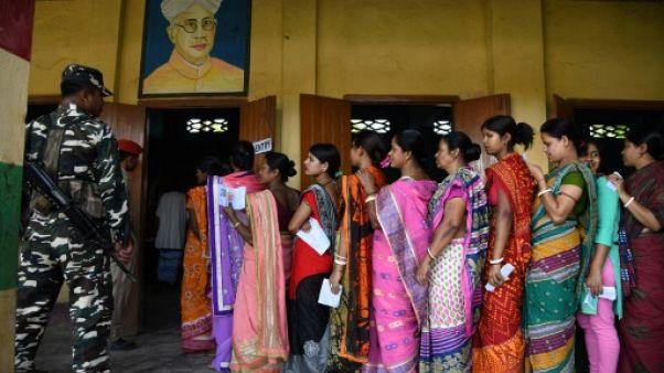 Le premier jour des législatives en Inde, le 11 avril 2019.