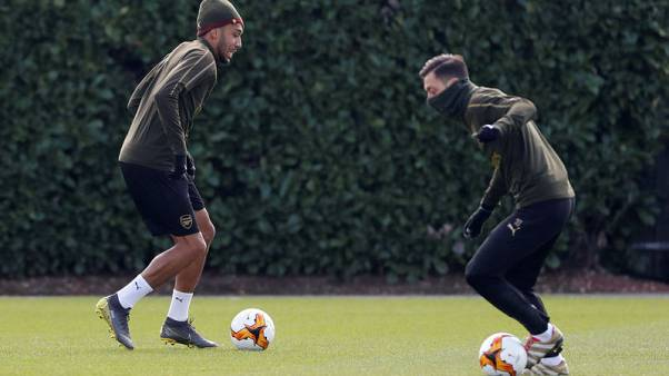 Aubameyang ready to start for Arsenal against Napoli