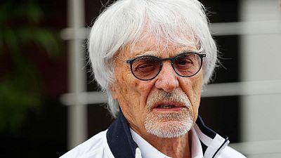 Ecclestone sees electric future as F1 celebrates 1,000 races