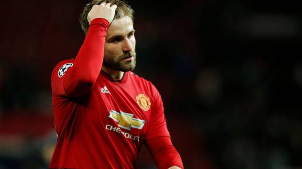 Shaw own goal gives Barca advantage over United