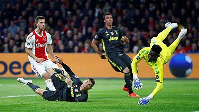 Ronaldo scores as Juventus held to a draw at Ajax