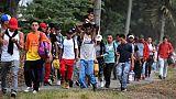 """Un millier de Honduriens prennent la route du """"rêve américain"""""""
