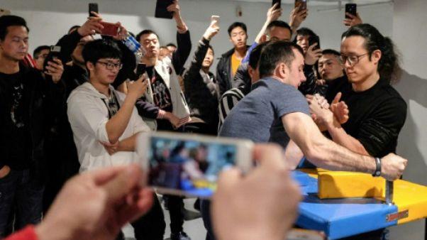 En Chine, le bras-de-fer attend ses lettres de noblesse