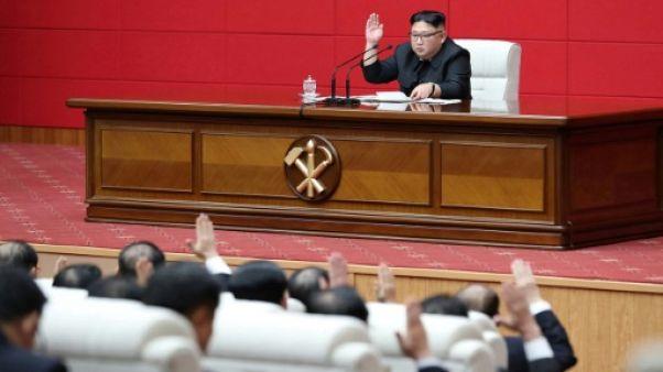 """Corée du Nord: Kim Jong Un veut porter """"un coup décisif"""" aux partisans des sanctions"""