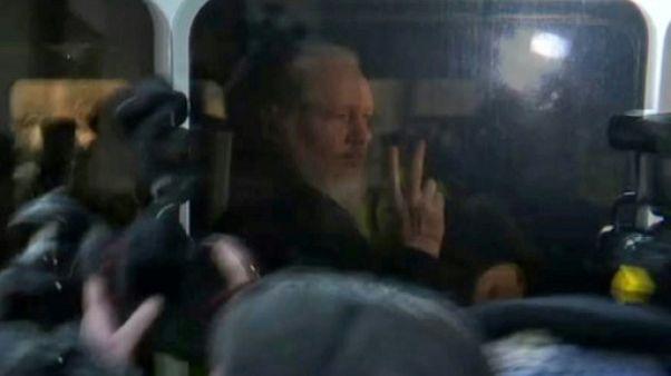 Julian Assange arrêté à Londres, Washington veut le juger
