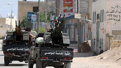 Libya fighting kills 56, European powers jostle over conflict