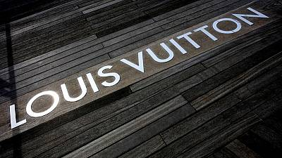 LVMH shares touch record highs after luxury group's solid first-quarter sales