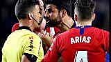 Liga: Atletico, 8 giornate a Diego Costa