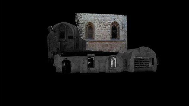 "3D laser imaging shines new light on ""Last Supper"" site"