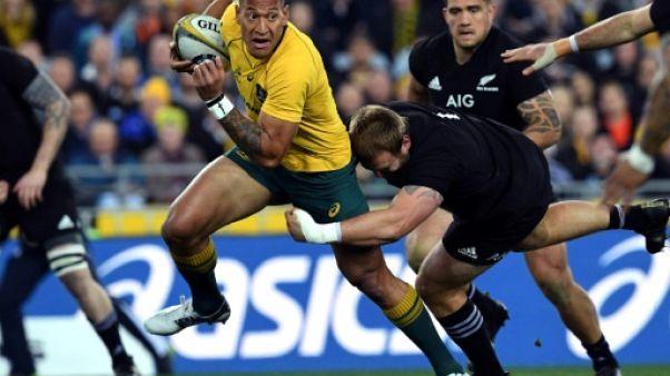 """Rugby: Folau """"a eu tort"""" de publier des propos homophobes, selon Fickou"""