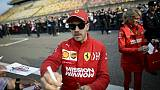 Le pilote de F1 allemande Sebastian Vettel, le 11 avril 2019 à Shanghai